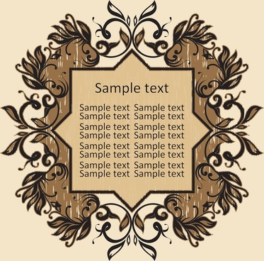 373x368 Vintage Frame Vector Png Images, Backgrounds And Vectors For Free