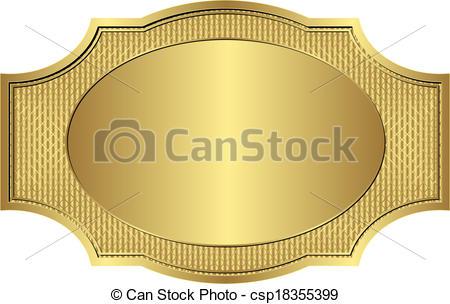 450x304 Gold Frame. Gold Vintage Frame.