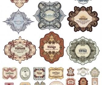 336x280 Vintage Labels Vector Vector Graphics Blog