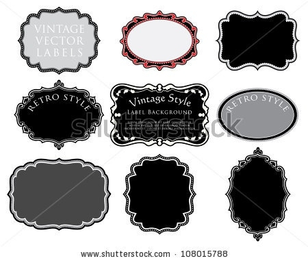 450x381 Blank Vintage Labels Download Free Vector Art, Stock Graphics