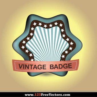 Vintage Label Vector Free Download