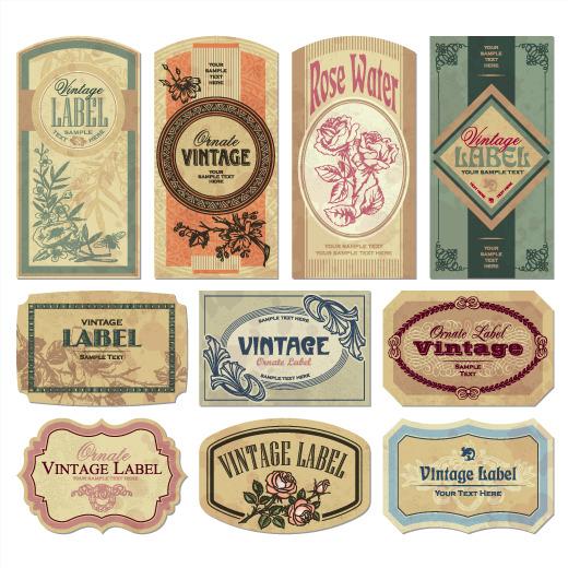 520x520 Vector Classical Vintage Label, Vector, Classic Vintage, Label Png