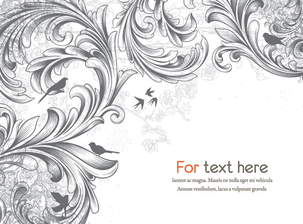 600x443 Scene When Europeanstyle Lace Border Pattern Vector 3 Free Vector