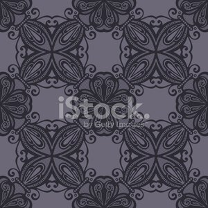 300x300 Seamless Vintage Lace Pattern (Vector) Stock Vectors