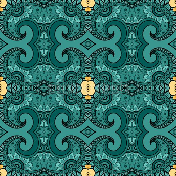 600x600 Vector Seamless Vintage Lace Pattern Vector Illustration Iryna