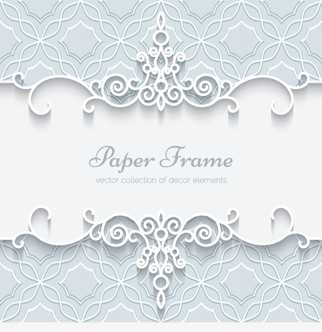 650x669 Vintage Border Pattern With White Lace, White, Lace, Pattern Png
