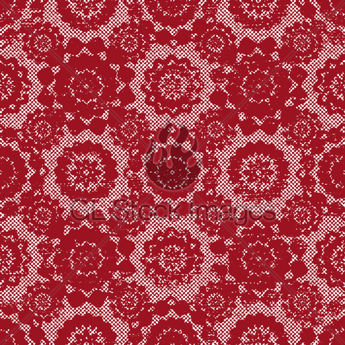 500x500 Vintage Red Lace Vector Pattern Background Gl Stock Images