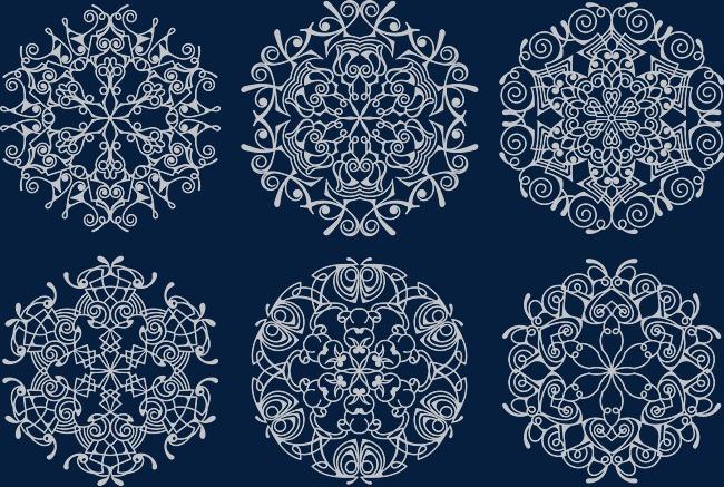 650x437 Chinese Vintage Lace Pattern, Retro, Chinese Lace, Palace Pattern