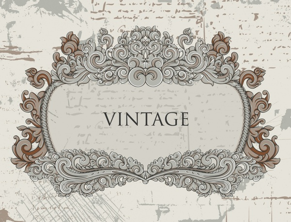 600x458 European Gorgeous Vintage Lace Vector Free Vector In Encapsulated