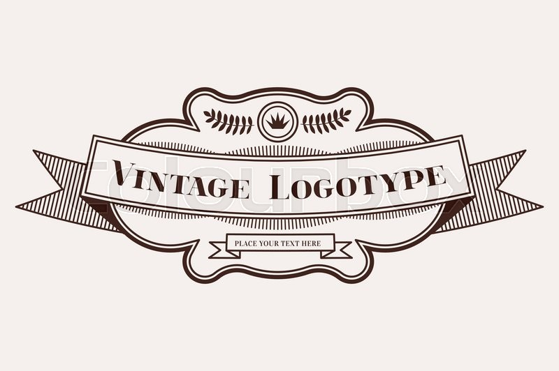 800x532 Vintage Old Style Logo Icon Template. Letter H Logo. Royal Hotel