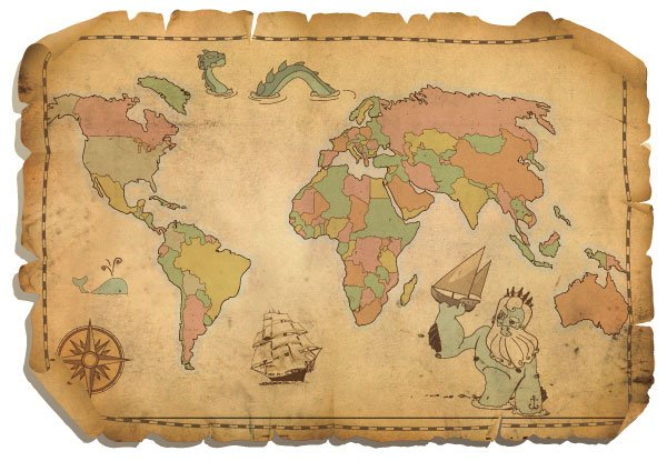 600x415 Free Free Antique World Map Psd Files, Vectors Amp Graphics