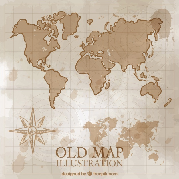 626x626 Old Map Vectors, Photos And Psd Files Free Download