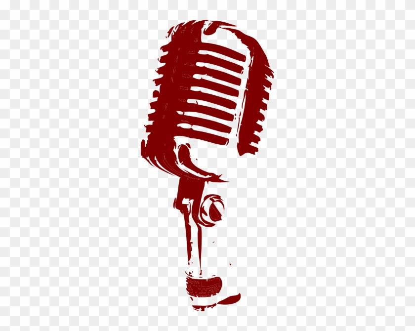 840x670 Vintage Microphone Clip Art At Clker Com Vector Clip