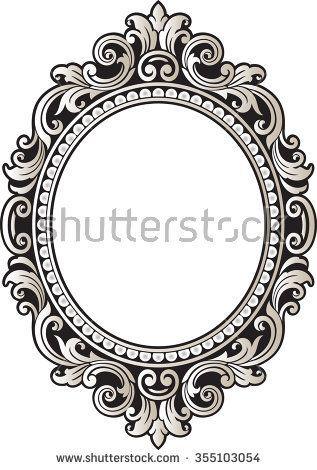 317x470 Kartinki Po Zaprosu Vintage Oval Frame Vector Logo