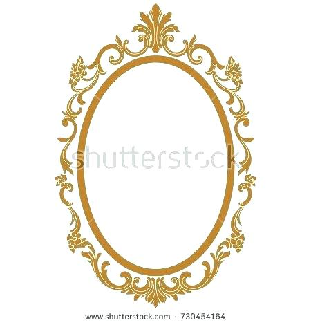 450x470 Antique Oval Picture Frames Value Antique Gold Picture Frame