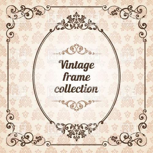 500x500 Elegant Ornate Vintage Decoration