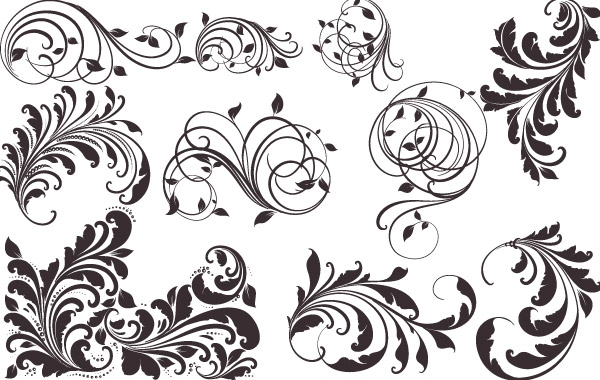 600x380 Free Download Of Vector Vintage Patterns For Designs Vector