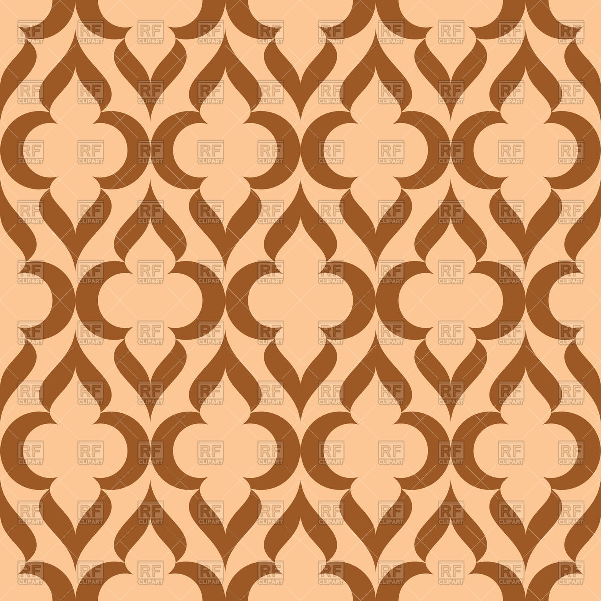 1200x1200 Seamless Simple Vintage Pattern Vector Image Vector Artwork Of