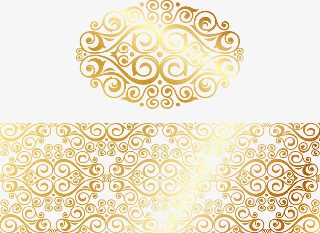 650x475 Vintage Gold Pattern, Retro Pattern, Gold Pattern, Chinese Pattern