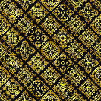 340x340 Vintage Pattern Free Vector Download (24,426 Free Vector) For