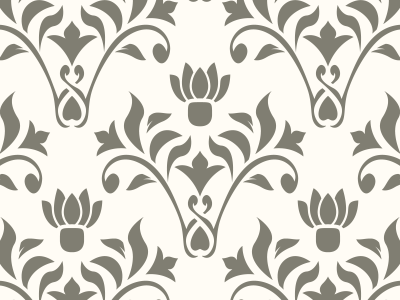 400x300 Free Vintage Damask Seamless Vector Pattern By Download Pattern