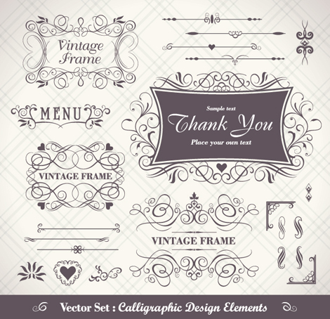 470x454 Free Download Of Ferrous Of Vintage Frame Vector Vector Graphic