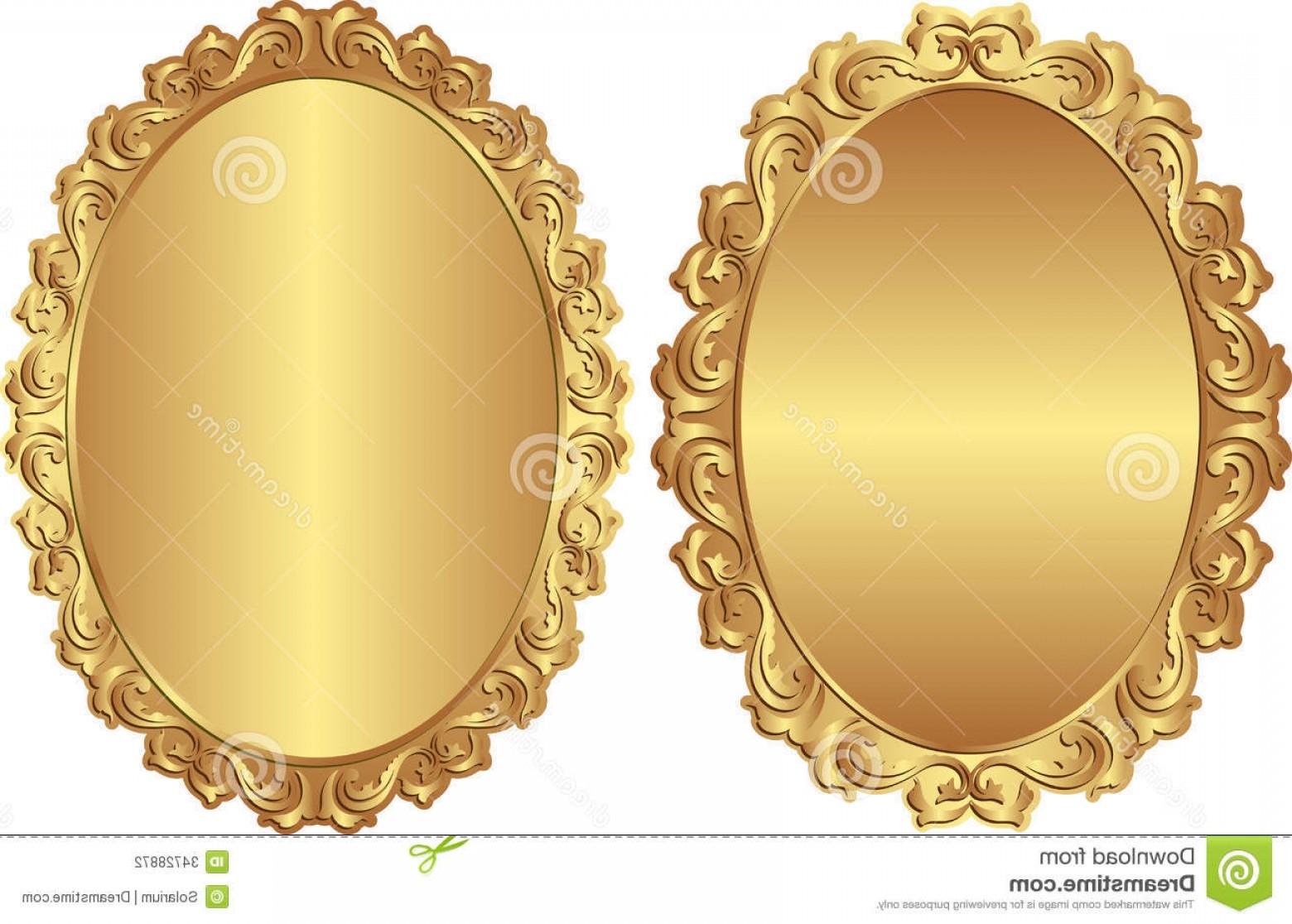 1560x1116 Stock Photography Vintage Frames Golden Vector Illustration Image