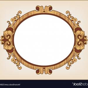300x300 Decorative Oval Vintage Frame Vector Sohadacouri