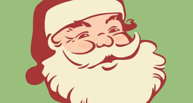 648x348 Vintage Santa Claus Gl Stock Images Design Blog