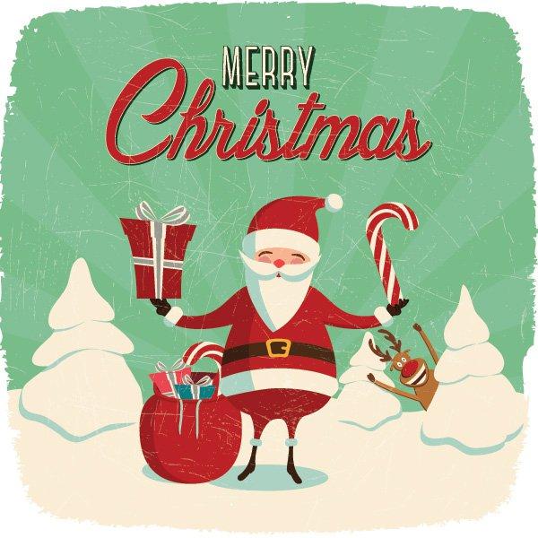 600x600 Santa Claus Clipart Images Vectors Download Free Vector Art