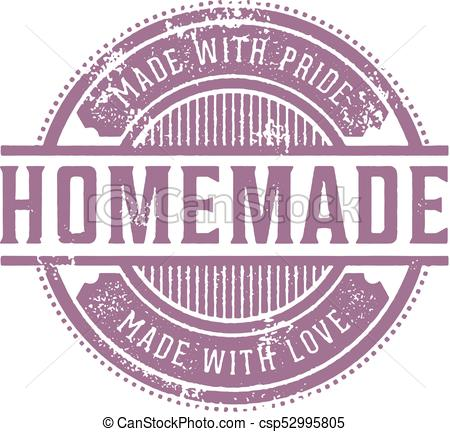 450x432 Home Made Vintage Stamp. Vintage Style Rubber Stamp For Homemade