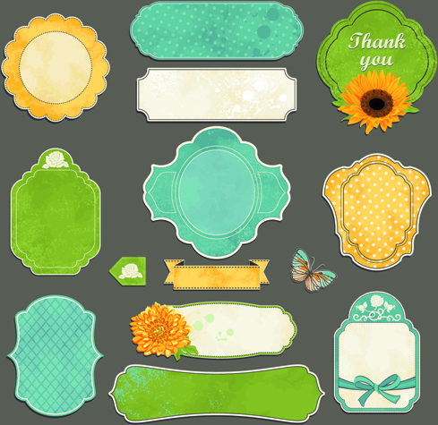 489x475 Vintage Sticker Labels Vector Free Vector In Encapsulated