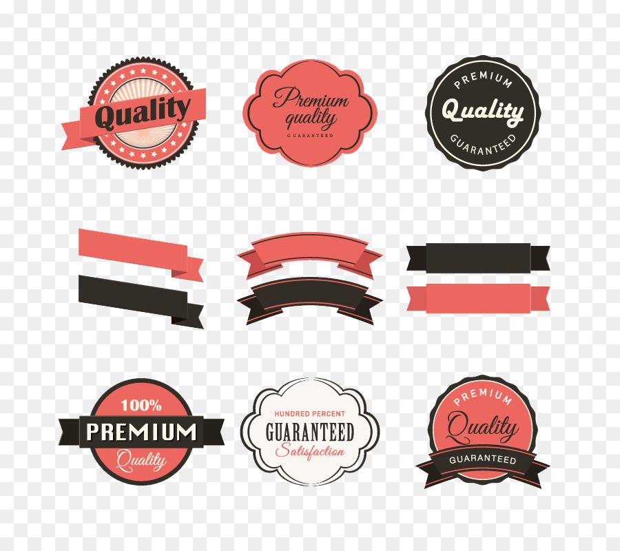 900x800 Paper Label Ribbon Sticker