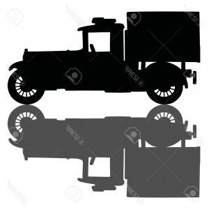 300x300 Hand Drawn Engraved Retro Vintage Pickup Truck Vector Shopatcloth