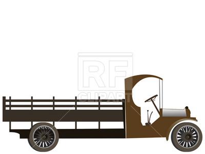 400x300 Old Truck Vector Image Vector Artwork Of Transportation