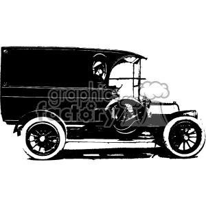 300x300 Royalty Free 1900 Vintage Truck Vintage 1900 Vector Art Gf 402571