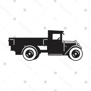 300x300 Set Of Muscle Car Vintage Car And Pickup Truck Vector Lazttweet