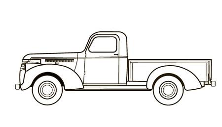 450x259 Collection Of Vintage Pickup Truck Clipart High Quality