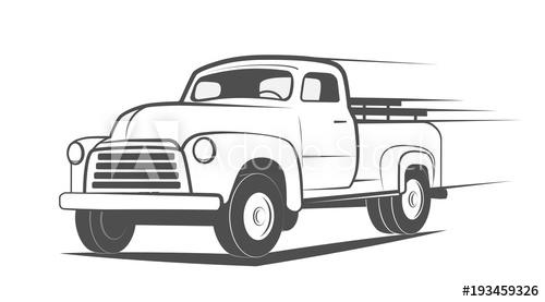 500x277 Vintage Truck Pickup