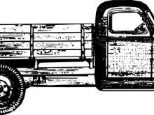 220x165 Old Truck Clip Art Old Style Truck Clip Art Free Vector In Open