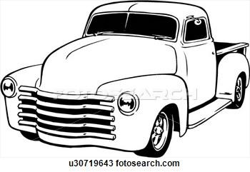 350x241 Classic Car Clipart Classic Truck