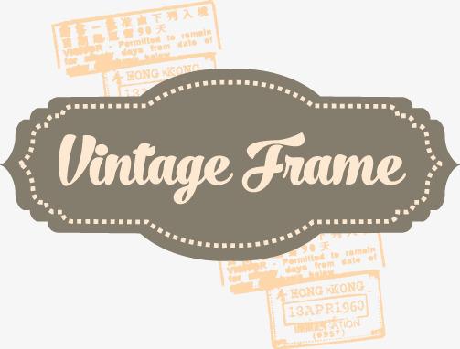 503x382 Vector Vintage Frame, Vintage Vector, Frame Vector, Frame Png And