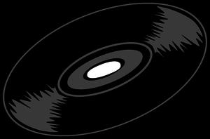 Vinyl Record Vector Free