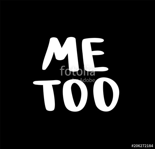 500x483 Me Too Hand Lettering. A Call To Stand Against Sexual Harassment