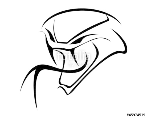 500x400 Viper Silhouette Stock Image And Royalty Free Vector Files On