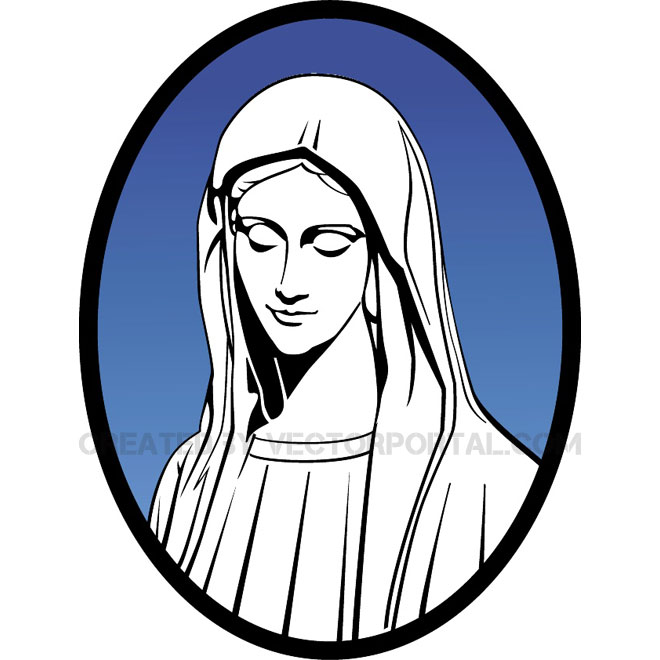 660x660 Mary Mother Of Jesus Vector