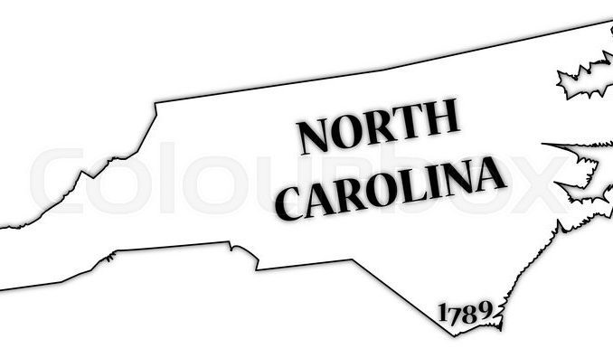 678x396 North Carolina State Outline Clipart All About Clipart