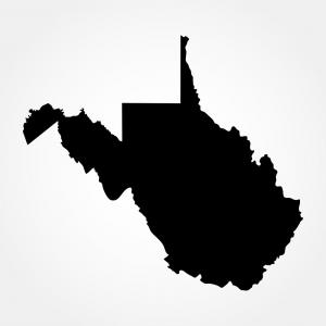 300x300 Map Of The Us State Of West Virginia Vector Arenawp