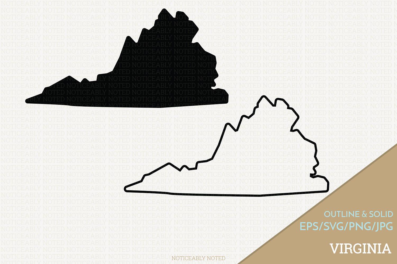 1500x998 Virginia Vector State Clipart Va Clip Art Virginia Svg Etsy