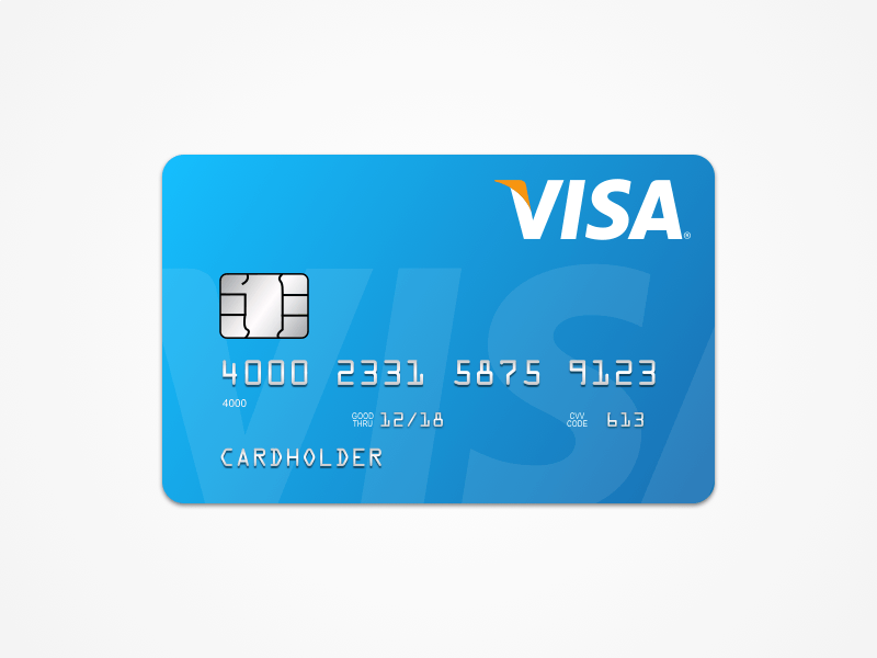 800x600 Sketch Repo On Twitter A Handy Fully Vector Visa Card Template